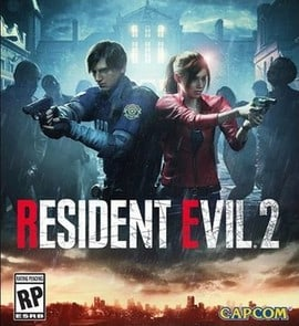 270px RE2 remake PS4 cover art