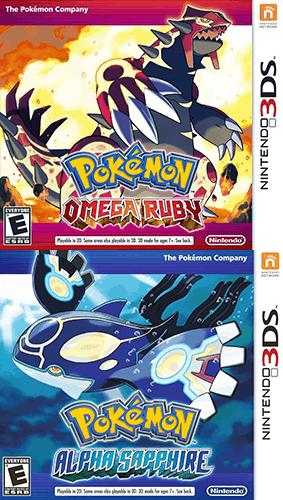 Pokemon ORAS cover