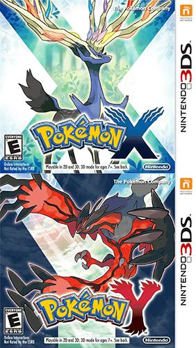 Pokemon XY cover
