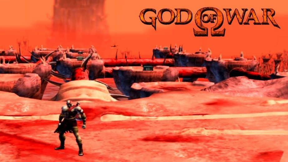 A historia de god of war 1