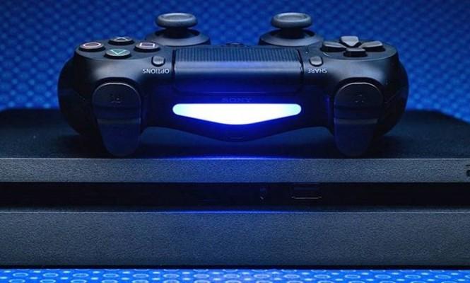 Playstation 4 controle e console