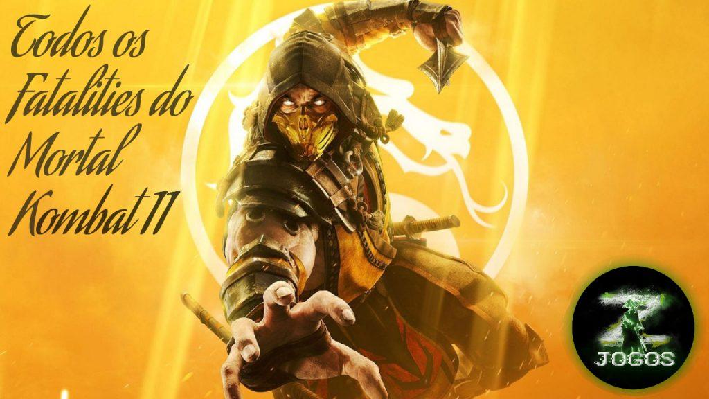 Mortal Kombat 11: como fazer os fatalities dos personagens / JogosZ