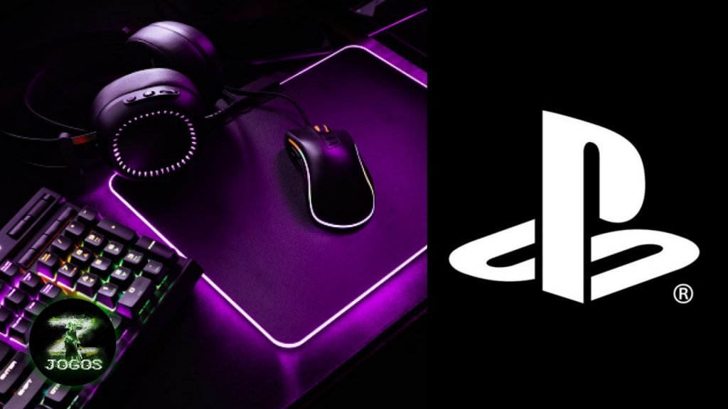 Como jogar com o teclado e mouse no PS4?