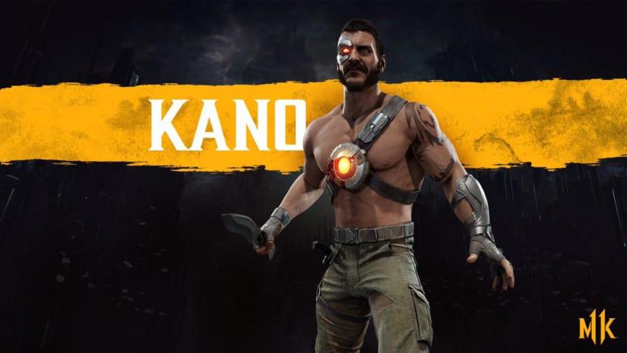 Personagem Kano (MK 11) / todos os fatalities do game