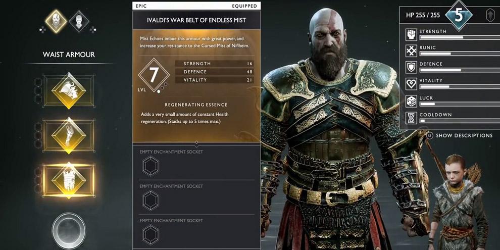 God of war: como derrotar a rainha valquíria