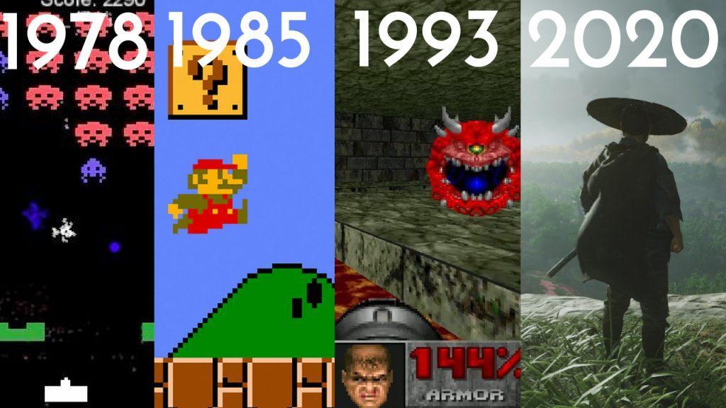 Do Primeiro Videogame Até Agora: A Evolução Dos Games  (1958 - 2021)