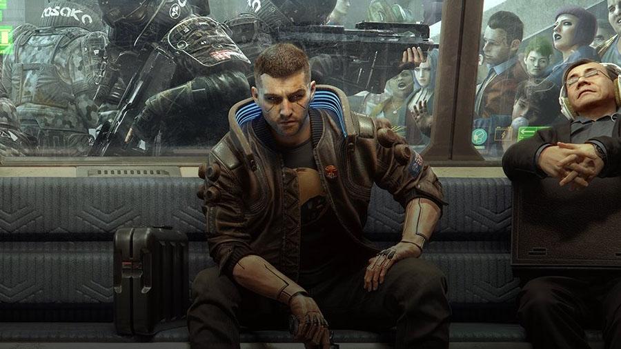 cyberpunk 2077 V wallpaper