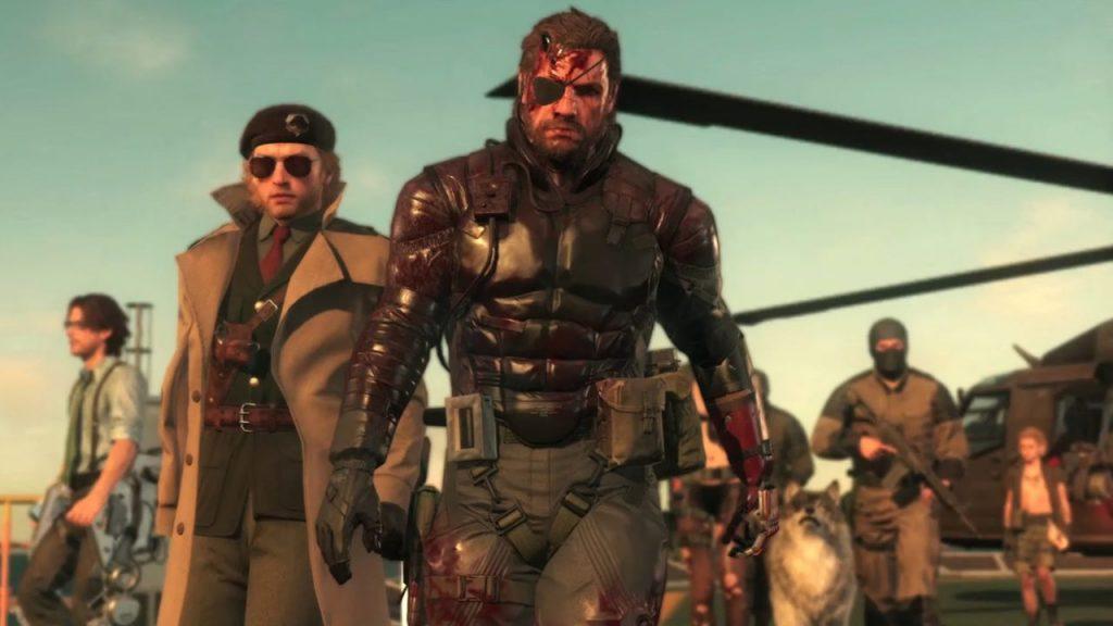 Metal Gear Solid V Venom Snake