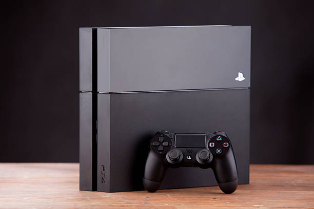 Console e controle Playstation 4