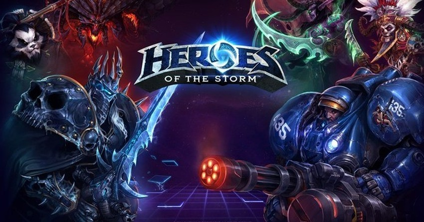 heroes of storm MOBA
